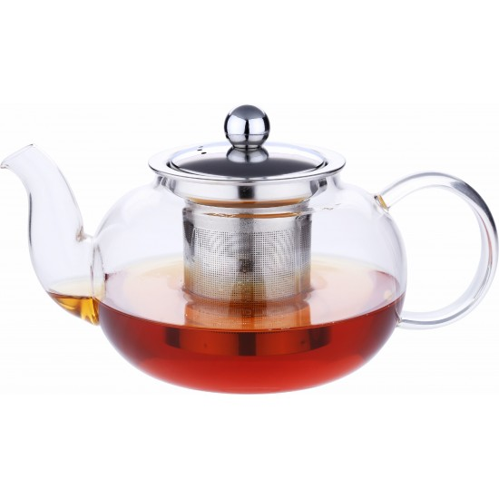 TRUST GLASS TEAPOT WITH FILTER 800ML
