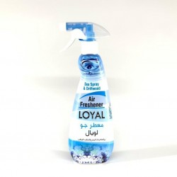 Loyal air freshener with the scent of sea spray and moist wood