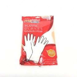 100-grain plastic gloves multi-use, one size suitable for all