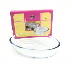 0.7L glass oven tray