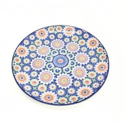 Flat porcelain plate size 9 and half inch